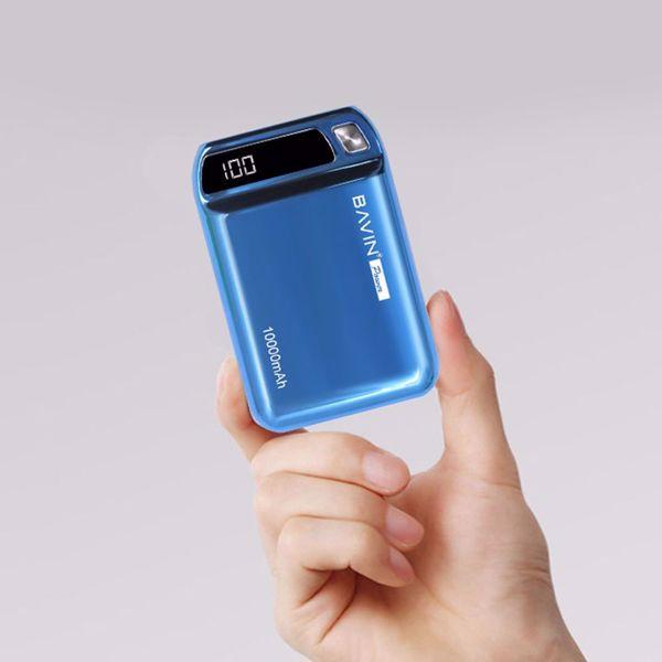صورة أصغر بور بانك  BAVIN PC139S 10000mAh 2 USB Port Mini Portable Universal Powerbank
