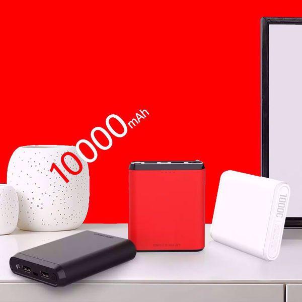 صورة بور بانك سعة  XO-PB73 Dual Output Mobile Power Supply 10000mAh
